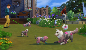 SIMS4 Cats & Dogs